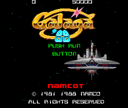 【ウラ技】『ギャラガ'88』(PCエンジン)のウラ技一覧