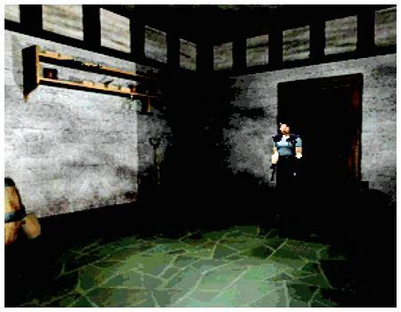 【攻略】PS1版『バイオハザード』ジル編02・寄宿舎(画像付き攻略)