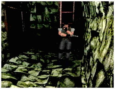 【攻略】PS1版『バイオハザード』クリス編④ 中庭地下(画像付き攻略)