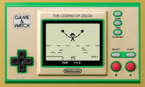 【NEWS】祝!35周年『ゼルダの伝説 ゲーム&ウォッチ』がフツウに予約できるようになっている件